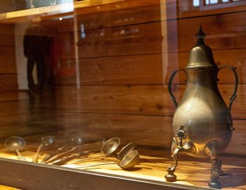 Everyday culture in the Bergisch Land: The »Dröppelminna« was the common coffeepot. (Copyright: BSW / Christina Schultes)